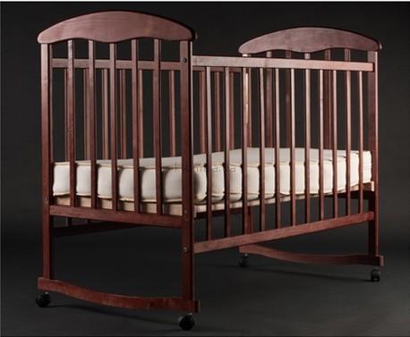 Детская кроватка Наталка Ольха тёмная
