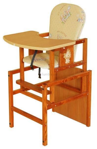 Детский стульчик для кормления Drewex Lion
