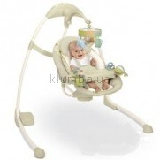 Детское кресло-качеля Bright Starts InGenuity Cradle & Sway Swing, Kashmir Fashion (6941)