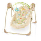 Детское кресло-качеля Bright Starts The Comfort & Harmony, Portable Swing, Elepaloo (7130)
