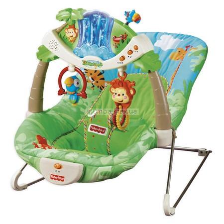 Детское кресло-качеля Fisher Price Джунгли (k2565)