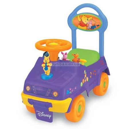 Детская машинка Kiddieland Винни Пух с оркестром