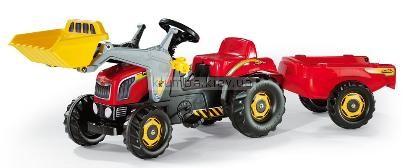 Детская машинка Rolly Toys RollyKid с прицепом и ковшом (23127)