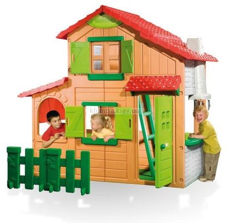 Детская площадка Smoby Berchet Двухэтажный коттедж