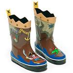 Резиновые сапожки для мальчиков «Пират» Kidorable