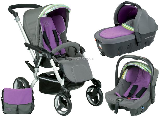 Детская коляска Jane Unlimit 3 в 1