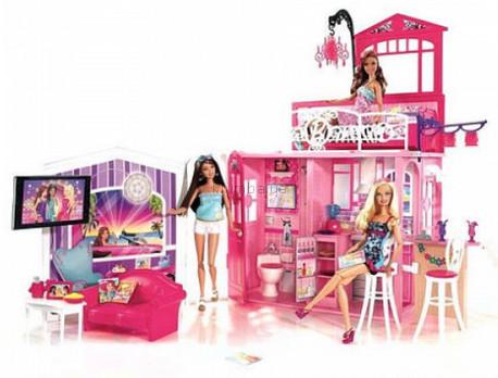 Детская игрушка Barbie Большой игровой набор Дом Барби