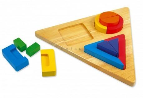 Детская игрушка Bino Геометрические фигуры Trio Former