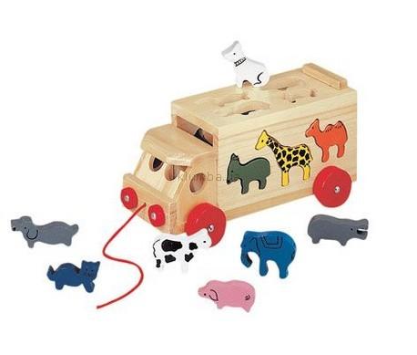 Детская игрушка Bino Грузовик с животными