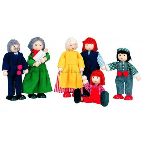 Детская игрушка Bino Куклы семья