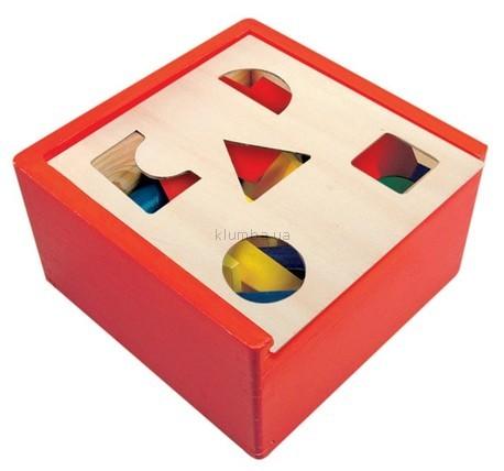 Детская игрушка Bino Сортер - куб Сегина