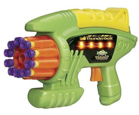 Детская игрушка Buzz BeeToy Помповое оружие Thunderbolt 10 Suction Dart