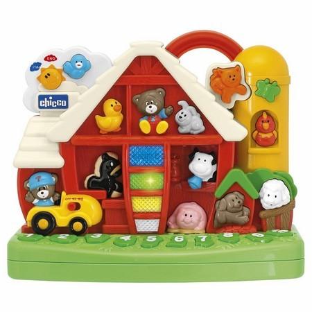Детская игрушка Chicco Двуязычная обучающая Ферма