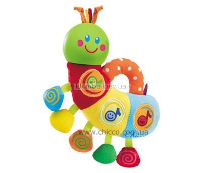 Детская игрушка Chicco Музыкальная гусеница