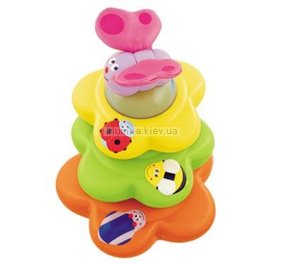 Детская игрушка Chicco Пирамидка из цветов