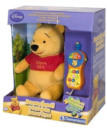 Детская игрушка Clementoni Винни Пух с телефоном