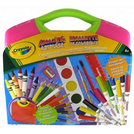 Детская игрушка Crayola Творчество,  в чемоданчике