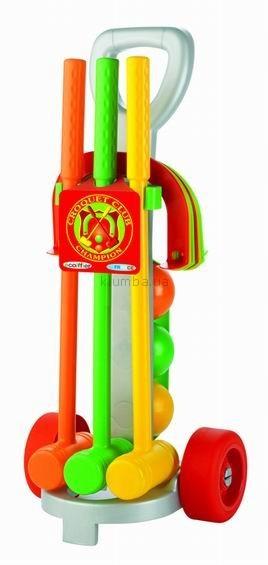 Детская игрушка Ecoiffier (Smoby) Набор для игры в Крокет