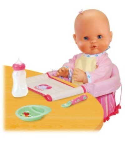 Детская игрушка Famosa Сидение-переноска, набор для кормления  и кукла (Nenuco)
