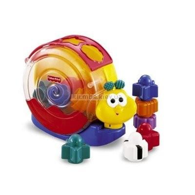 Детская игрушка Fisher Price Улитка-сортер