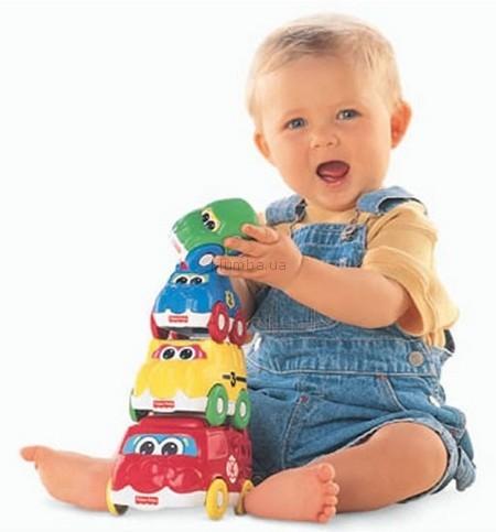 Детская игрушка Fisher Price Машинки-матрешки