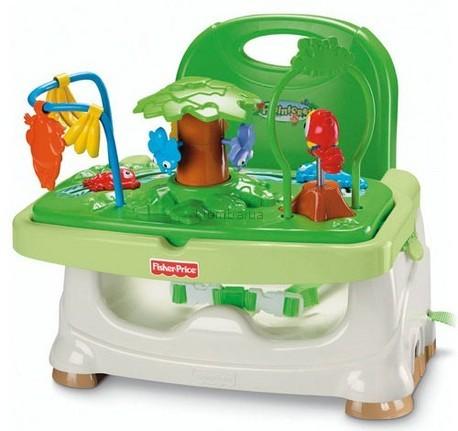 Детская игрушка Fisher Price Стульчик-бустер Джунгли