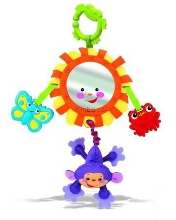 Детская игрушка Fisher Price Музыкальное зеркало Джунгли