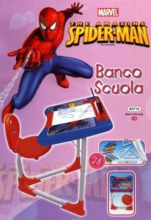 Детская игрушка Grand Soleil Парта  Bancoscuola Techno Spiderman