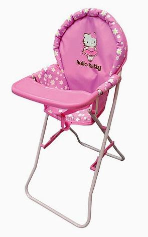 Детская игрушка Grand Soleil Стульчик для кормления Seggiolone Hello Kitty