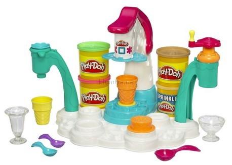 Детская игрушка Hasbro Набор пластилина Фабрика мороженого  Play-doh