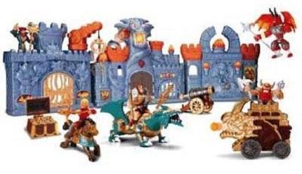Детская игрушка Keenway Замок с драконом