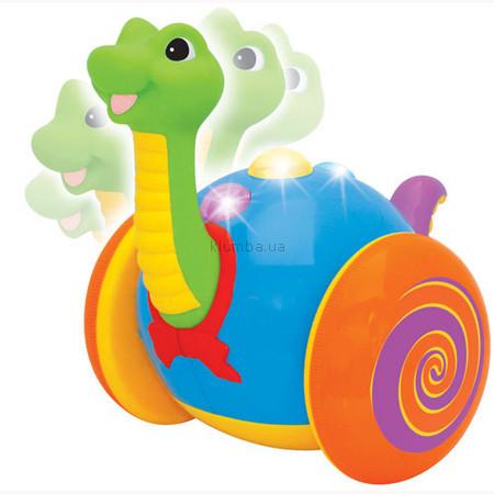 Детская игрушка Kiddieland Каталка Веселый динозаврик