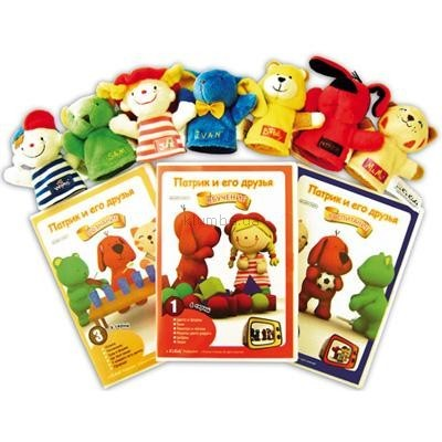 Детская игрушка K's Kids Подарочный набор Кукольный театр