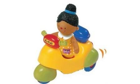 Детская игрушка K's Kids Мотоцикл с Барбарой