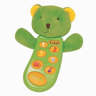 Детская игрушка K's Kids Музыкальный телефон c записью Сэм