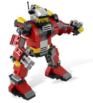 Детская игрушка Lego Creator Робот-спасатель (5764)