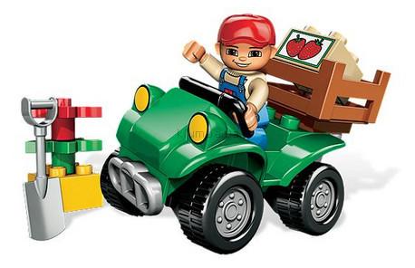 Детская игрушка Lego Duplo Квадроцикл фермера (5645)
