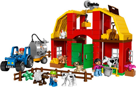 Детская игрушка Lego Duplo  Большая ферма (5649)