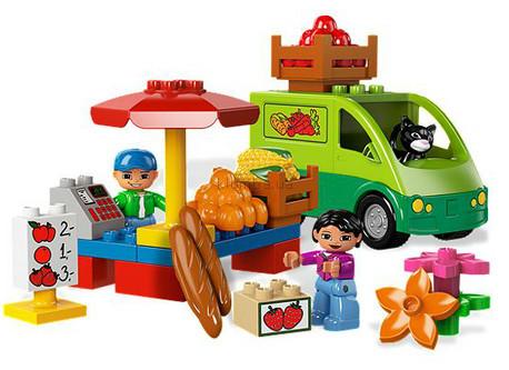 Детская игрушка Lego Duplo Торговый рынок (5683)