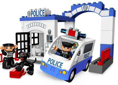 Детская игрушка Lego Duplo Полицейский участок (5602)