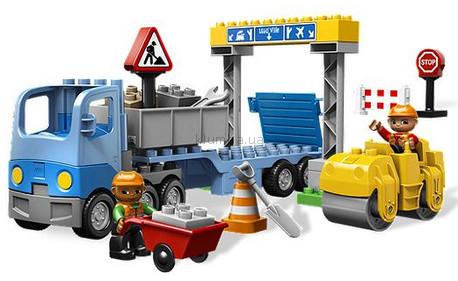 Детская игрушка Lego Duplo Дорожное строительство (5652)