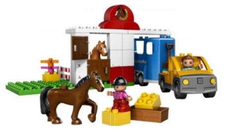 Детская игрушка Lego Duplo Конюшня (5648)