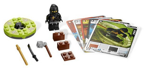 Детская игрушка Lego Ninjago Ниндзя Коул (2112)