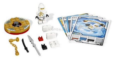 Детская игрушка Lego Ninjago Ниндзя Зейн DX (2171)