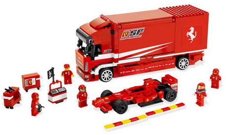 Детская игрушка Lego Racers Грузовик Ferrari (8185)