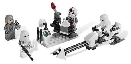 Детская игрушка Lego Star Wars Боевое подразделение штурмовиков-клонов (8084)