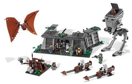 Детская игрушка Lego Star Wars Битва на Эндоре (8038)