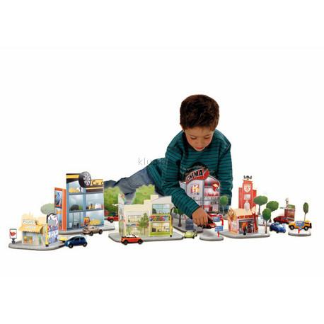 Детская игрушка Majorette Большой  набор Город
