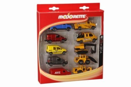 Детская игрушка Majorette Набор из 10 машин