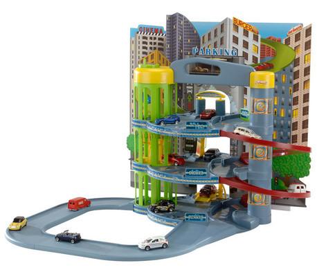Детская игрушка Majorette Паркинг с 10  машинами